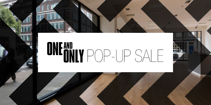 Pop-up Sale