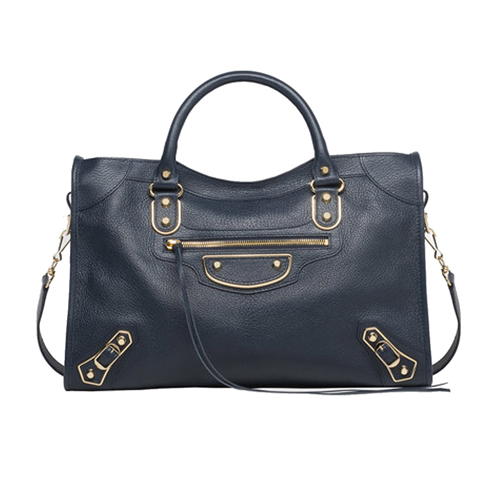 1ea52f7621f5 Balenciaga Classic Metallic Edge City Bag – Blue