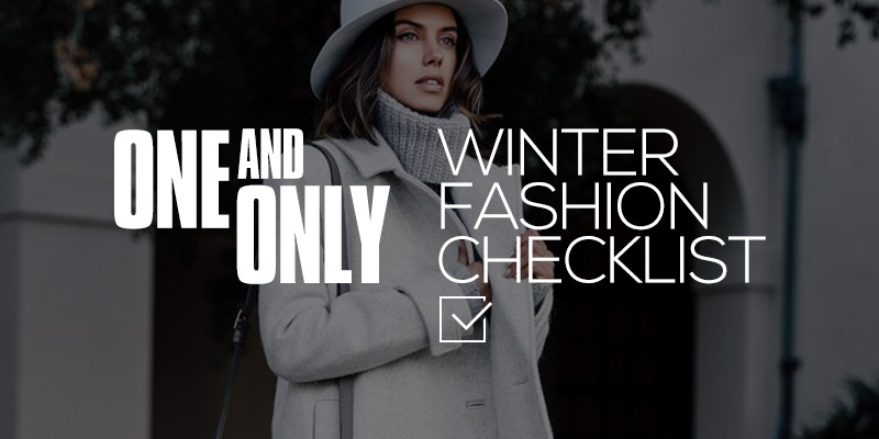 Winter Fashion Checklist