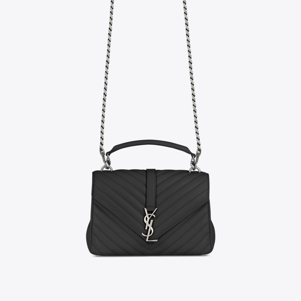 Ysl Classic Large Monogram Bag Black The One And Only